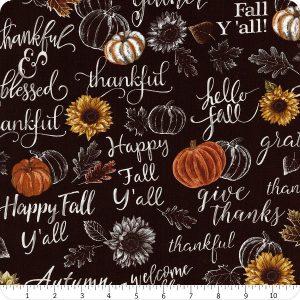 Fall Theme Fabric
